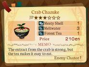 Stratum 3. Crab Chazuke