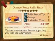 Stratum 6. Orange-Sauce Kaiju Steak
