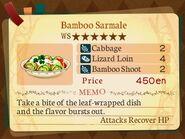 Stratum 6. Bamboo Sarmale