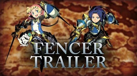 The Agile Fencer is Master of All Things Stabbing in Etrian Odyssey V Beyond the Myth