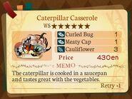 Stratum 6. Caterpillar Casserole