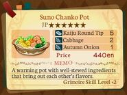 Stratum 6. Sumo Chanko Pot