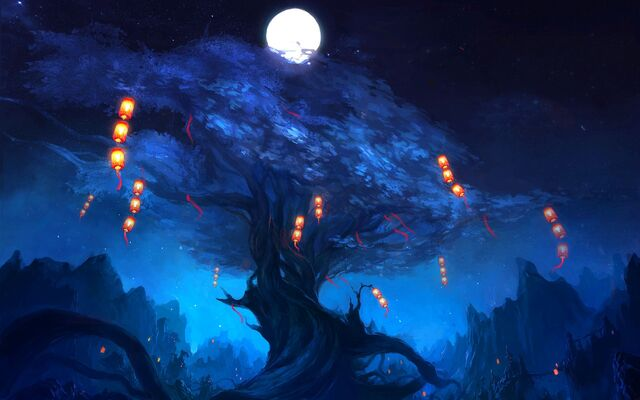 File:Art-tree-lanterns-moon-night-1.jpg