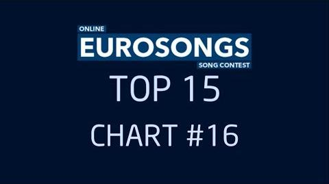 EUROSONGS TOP 15 - CHART 16