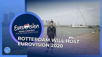 Rotterdam will host Eurovision 2020!