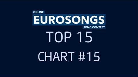 EUROSONGS TOP 15 - CHART 15