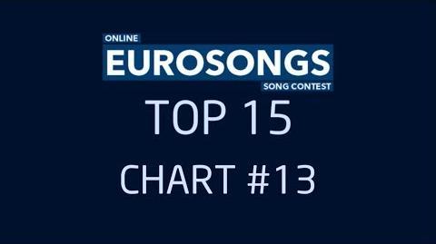 EUROSONGS TOP15 - CHART 13-0