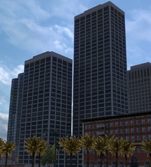 San Francisco Steuart and Spear Towers