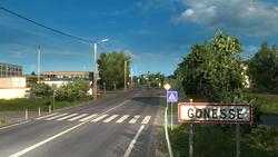 Gonesse entrance