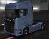 Scania S scandinavian blue