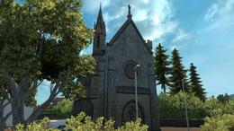 Bourganeuf church