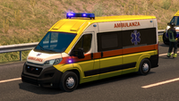 Ets2 Fiat Ducato Ambulanza