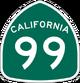 CA 99 sign