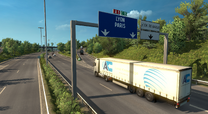 France A1 ETS2 airport exit