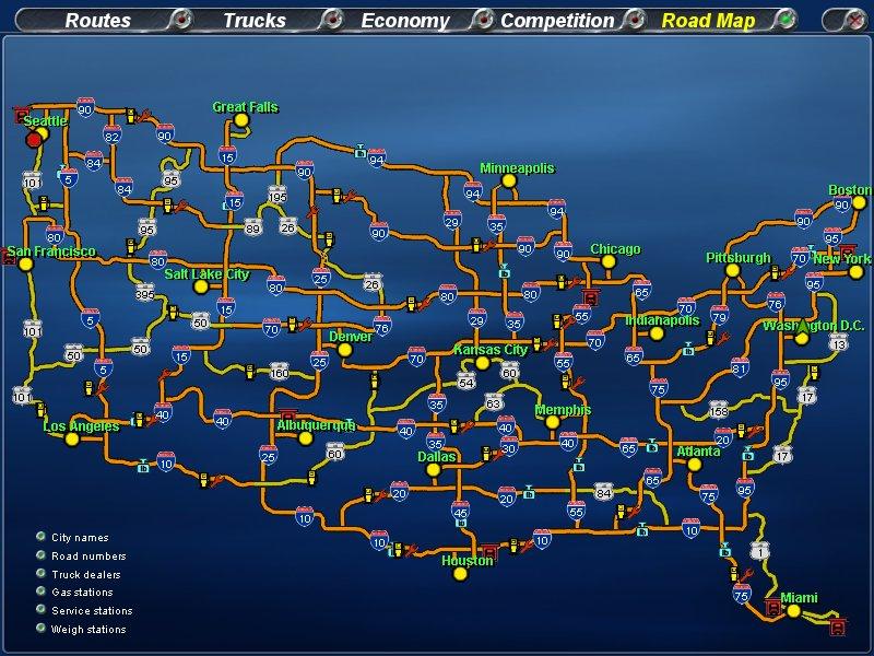 Across America mapjpg Image Across America