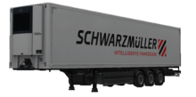 ETS2 Schwarzmüller Refrigerated Trailer