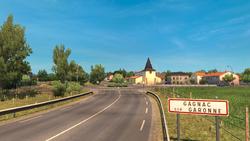 Gagnac entrance