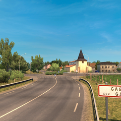 Gagnac Entrance