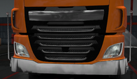Daf xf euro 6 lower grille guard ranger