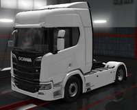Scania R cabin high roof