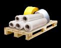 Cargo icon Plastic film rolls