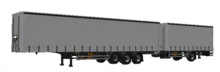 ETS2 Curtainsider Double