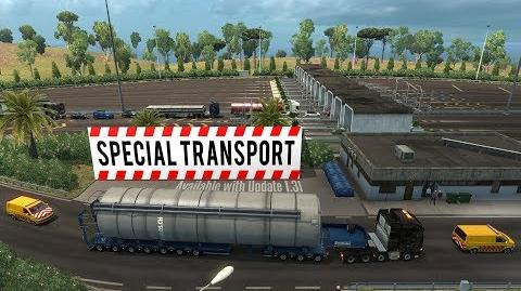 ETS2 Special Transport DLC Update