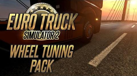 Euro Truck Simulator 2 - Wheel Tuning Pack