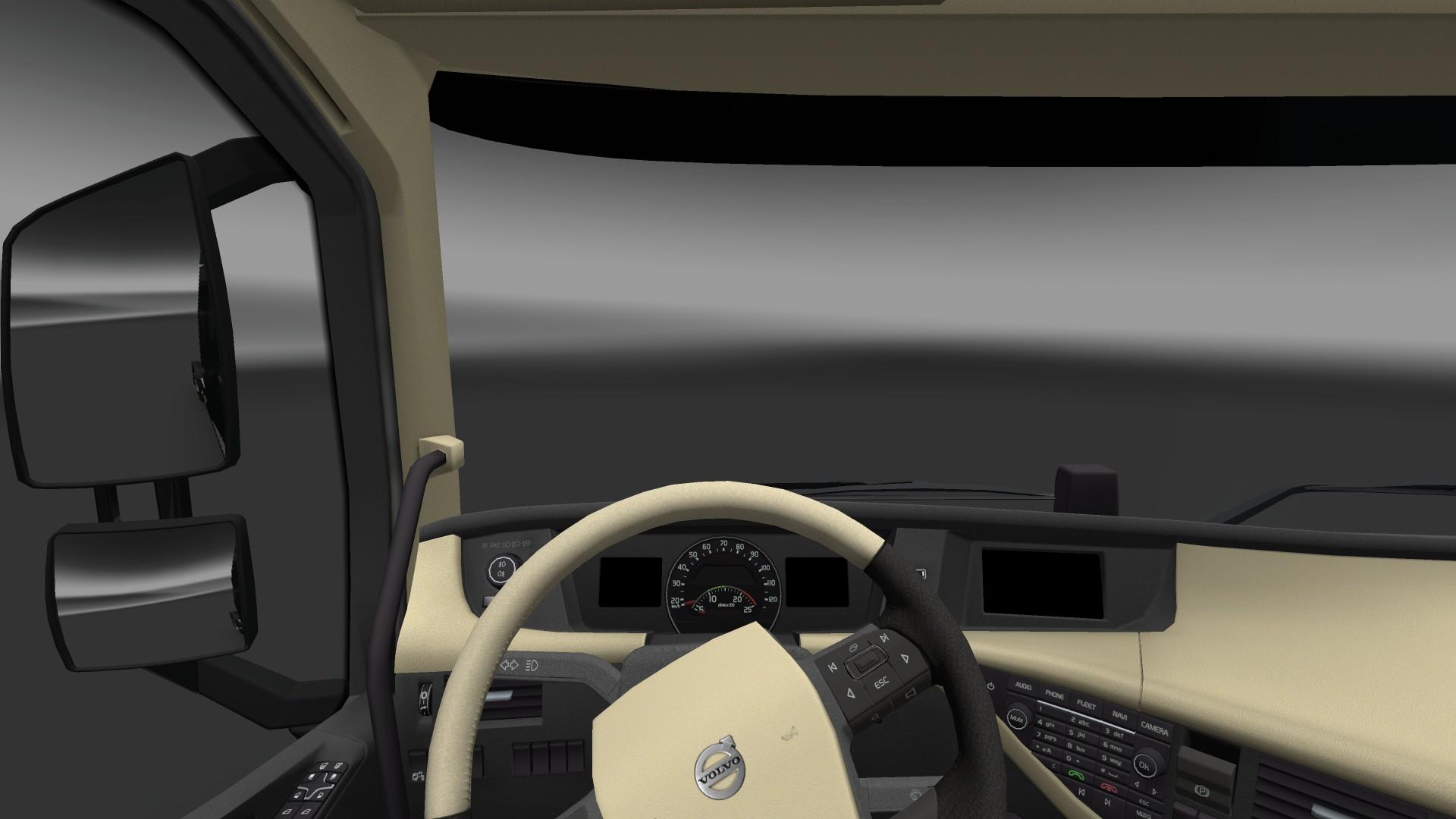 Image - Volvo FH16 Interior Standard.jpg | Truck Simulator Wiki ...