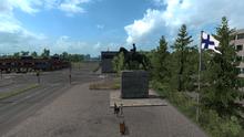Lahti Mannerheim statue