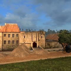 Éguilly castle