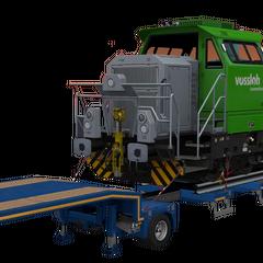 Locomotive - Vossloh G6 (61 t / 136,135 lb)