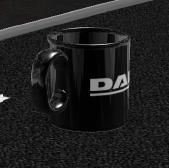 Daf items daf black style mug
