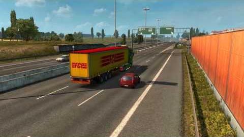 Euro Truck Simulator 2 - Torino to Milano (Full run of A55)
