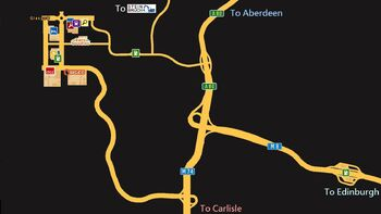 Glasgow Truck Simulator Wiki FANDOM Powered By Wikia - Norway map euro truck simulator 2