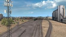 Clovis railyard