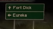 FortDick sign