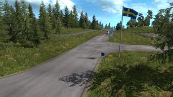 Swedish border
