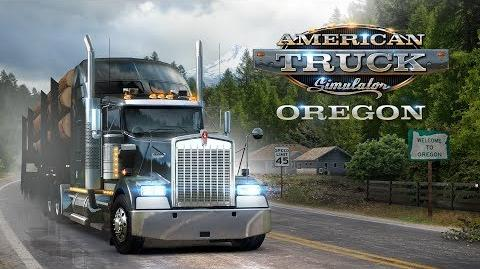 American Truck Simulator - Oregon launch trailer