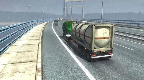 Euro Truck Simulator 2 - British M4