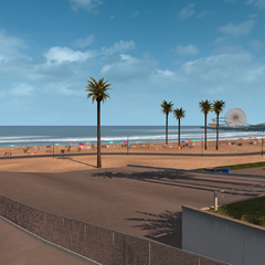 Santa Monica State Beach South
