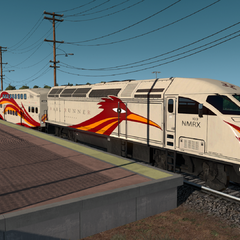 New Mexico Rail Runner Express
