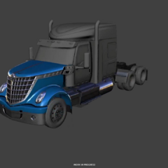 LoneStar exterior CAD revealed during ATS 3rd anniversary livestream in February 4th, 2019