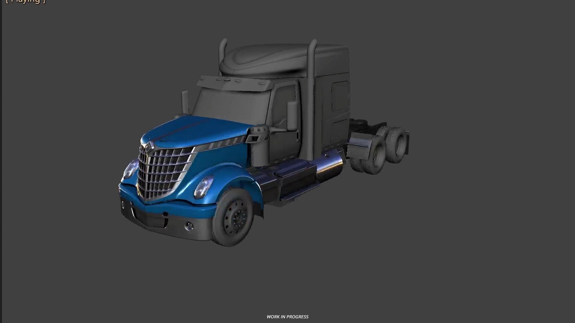 International Lonestar. Truck; CAD Exterior; CAD Interior. Truck · CAD Exterior
