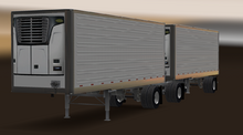 ATS Reefer 3000R Trailer Double short