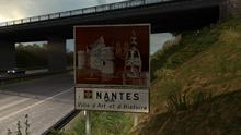 Nantes sign