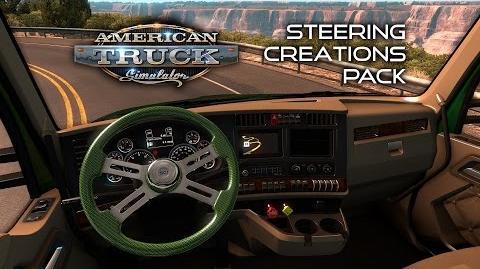 American Truck Simulator - Steering Creations Pack DLC