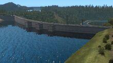 Longview Mossyrock Dam