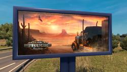 American Truck Simulator Ad