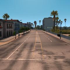 Colorado Avenue (on the right: Holiday Inn Santa Monica)